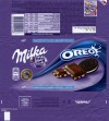Milka, milk chocolate with Oreo biscuit, 100g, 28.11.2013, Mondelez Czech Republic s.r.o., Praha and Karlin, Czech Republic