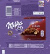 Milka, milk chocolate with raspberry, hazelnut and chocolate drops, 93g, 21.10.2015, Mondelez International, Budapest, Hungary