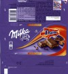 Milka, milk chocolate with daim caramel crushed, 100g, 12.02.2015, Mondelez International, Germany