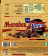 Marabou, Daim saltlakrits, milk chocolate with liquorice pieces, 200g, 07.08.2015, Mondelez Sverige, Sweden