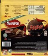 Japp, milk chocolate with toffee pieces, 185g, 04.12.2014, Mondelez Sverige, Sweden