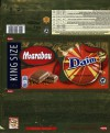Marabou Daim, milk chocolate with almond crunch, 250g, 04.01.2015, Mondelez Sverige, Sweden