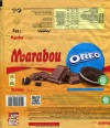 Marabou, Oreo, milk chocolate with oreo bisquits pieces, 185g, 22.09.2016, Mondelez International (Sverige), Sweden