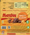 Marabou, apelsin krokant, milk chocolate with orange and crispies, 200g, 06.03.2017, Mondelez International (Sverige), Sweden