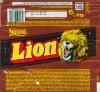 Lion, caramel, filled wafer, crisp cereal, cevered in milk chocolate, 45g, 18.01.1999
