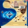 Orion, white chocolate with dark chocolate pieces, 100g, 08.2008, Orion Nestle Cesko s.r.o, Praha, Czech Republic