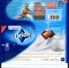 Orion, milk chocolate with yogurt filling, 100g, 07.2009, Nestle Cesko s.r.o, Praha, Czech Republic