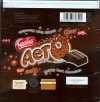 Nestle, bubbly dark chocolate, 74g, 09.2009, Nestle Portugal S.A., Linda-A-Velha, Portugal