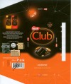 Club, dark chocolate with almond pieces, 100g, 10.2007, Nestle Bulgaria A.D, Sofia, Bulgaria