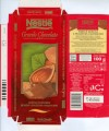 Grands Chocolats, milk chocolate with almonds, 100g, 27.02.1999, Nestle Espana S.A., Barcelona, Spain