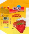 Compound tablet with a strawberry yoghurt filling, 100g, 10.2001, 