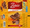 Milk chocolate with nougat cream filling, 100g, 07.2008, Nestle Zora, Praha, Czech Republic