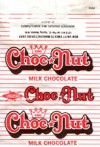 King Choc Nut, milk chocolate, 10g, New Unity Sweets manufacturing Corp., Tugatog, Malabon, Philippines