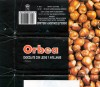 Orbea, milk chocolate with hazelnuts, 100g, 12.1994