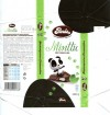 Panda, Minttu, dark chocolate with mint flavoured filling, 100g, 03.10.2011, Panda chocolate factory, Vaajakoski, Finland
