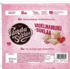 Vadelmamuru- suklaa, white chocolate with pieces containing raspberry, 145g, 22.04.2016, Orkla Confectionery and Snacks Finland, Panda, Maarianhamina, Finland