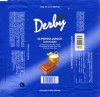 Derby, milk chocolate, 100g, 11.2003, Penny Markt GmbH, Köln, Germany