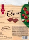 Opera, milk chocolate with raisins and nuts, 100g, 21.06.2004