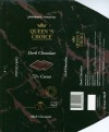 Queen's choice, dark chocolate 72%, 100g, made in Belgium for Private Brands Nordre Toldbod, Denmark