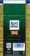 Ritter sport, truffel, milk chocolate with truffel filling, Alfred Ritter GmbH & Co. Waldenbuch, Germany