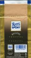 Ritter sport, truffel, milk chocolate, Alfred Ritter GmbH & Co. Waldenbuch, Germany