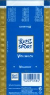 Ritter sport, vollmilch, milk chocolate, Alfred Ritter GmbH & Co. Waldenbuch, Germany