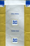Ritter sport, creme coco, about 2008, Alfred Ritter GmbH & Co. Waldenbuch, Germany