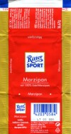 Ritter sport, milk chocolate with marzipan filling, 16,67g, Alfred Ritter GmbH & Co. Waldenbuch, Germany
