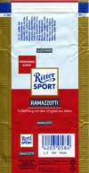 Ritter sport, ramazotti, milk chocolate with truffle filling, Alfred Ritter GmbH & Co. Waldenbuch, Germany