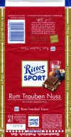 Ritter sport, winter edition, milk chocolate with rum flavouring, 100g, 24.03.2008, Alfred Ritter GmbH & Co. Waldenbuch, Germany