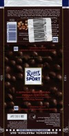 Ritter sport, dark chocolate with whole nuts, 100g, 22.10.2013, Alfred Ritter GmbH & Co. Waldenbuch, Germany
