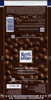 Ritter sport, dark chocolate with whole nuts, 100g, 07.10.2013, Alfred Ritter GmbH & Co. Waldenbuch, Germany