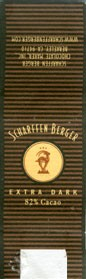 Dark chocolate, 5g, Scharffen Berger Chocolate Maker, Inc., Berkeley, USA