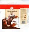 1, milk chocolate with cappuccino taste, 100g, 05.2007, S+F Food Stuff SRL, Bucharest, Romania
