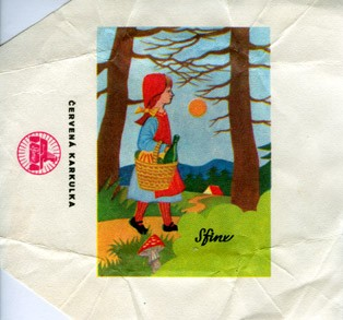 Cervena karkulka, milk chocolate, 1980, Sfinx, Holesov, Czech Republic (CZECHOSLOVAKIA)