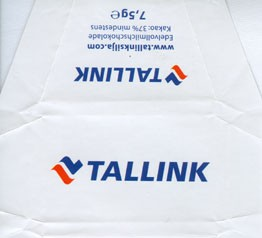 Silja Line, Tallink, milk chocolate, 7,5g, 2008, Made in Germany
