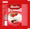 Novatini, compound with strawberry cream and whipped cream, 100g, 24.05.2011, Supreme chocolat S.R.L, Bucharest, Romania