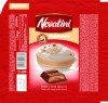 Novatini, tablet with cappuccino cream, 100g, 11.05.2012, Supreme Chocolat S.R.L., Bucharest, Romania