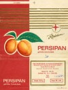 Persipan, chocolate with peach filling, 100g, 15.12.1972, Rotstern, Saalfeld/Saale, Deutsche Demokratische Republic