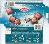 Cocos, Schogetten, milk chocolate filled with coconut cream, 100g, 03.2001, Trumpf Schokoladenfabrik GmbH, Aachen, Germany