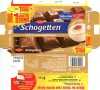 Schogetten, milk chocolate with capuccino chocolate filled, 100g, 02.20011, Trumpf Schokoladenfabrik GmbH, Saarlouis, Germany