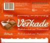 Milk chocolate with Butterscotch, 75g, 01.1999, Verkade Consumentenservice, Zaandam, Netherlands