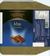Milk chocolate, 100g, 2008, Wawel S.A., Krakow, Poland