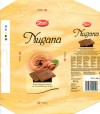 Nugana, whole milk chocolate of superior quality with gently melting nougat, 100g, 10.12.2008, Zetti, Germany