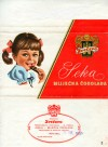 Seka, milk chocolate, 200g, 15.8.1970, Zvecevo, Croatia