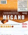 Costa, Mecano, chocolate flavoured with caramel flavoured filling, 80g, 2008, Empresas Carozzi S.A., Renana Alto, Vina del Mar, Chile