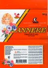 Anneke, milk chocolate, 50g, 07.2000