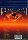 Koorekohvi, chocolate with coffee & cream, 50g, 16.12.1993