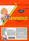 Anneke, milk chocolate, 50g, 03.2004