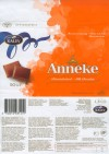 Anneke, milk chocolate, 50g, 02.04.2007, Kalev, Lehmja, Estonia